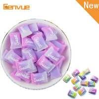 5 pièces sucre doux jouets Addition pour Slime perle fournitures pour Slime charmes Lizun pâte à modeler polymère bricolage accessoires pour enfants