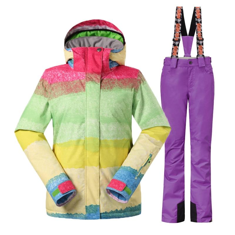 Gsou Snow шаңғы костюмдер әйелдер - Спорттық киім мен керек-жарақтар - фото 5