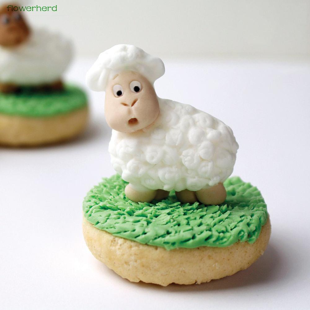 Awe Inspiring Little Lamb Sugar Mold Cake Decorating Tools Food Safe Silicone Birthday Cards Printable Inklcafe Filternl
