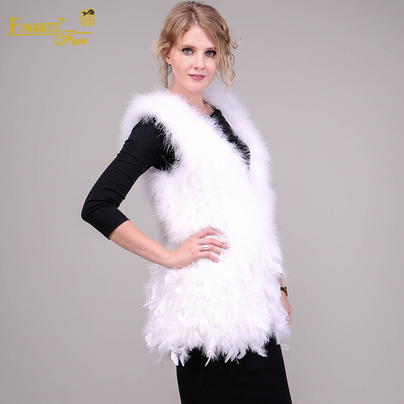 f362a729f4e Natural Real Rare Ostrich Feather Vest Fashion Women Genuine Fur Coats  Clothes Ostrich China Ostrich Fur Clothing Autumn Vest-in Real Fur from  Women's ...