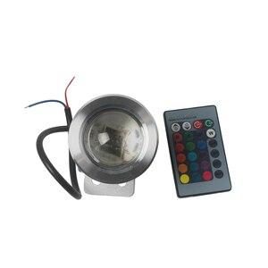 Image 2 - مصباح صيد القوارب لليخوت البحرية 12 فولت 24 فولت مصباح بركة السباحة LED RGB مع جهاز التحكم عن بعد IP65