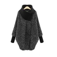 Осень/зима женская одежда женский свитер кардиганы размера плюс M-5XL европейская одежда для беременных Верхняя одежда Зимнее пальто 5090