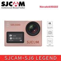 Оригинальный SJCAM Sj6 Легенда Экшн камера 4k WiFi 16MP 2,0 Сенсорный экран Дайвинг 30m Водонепроницаемый go pro Yi 4k sj удаленного видеокамера