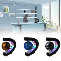 LED Floating Globe Magnetic Levitation Night Lights Home Decoration EU Plug