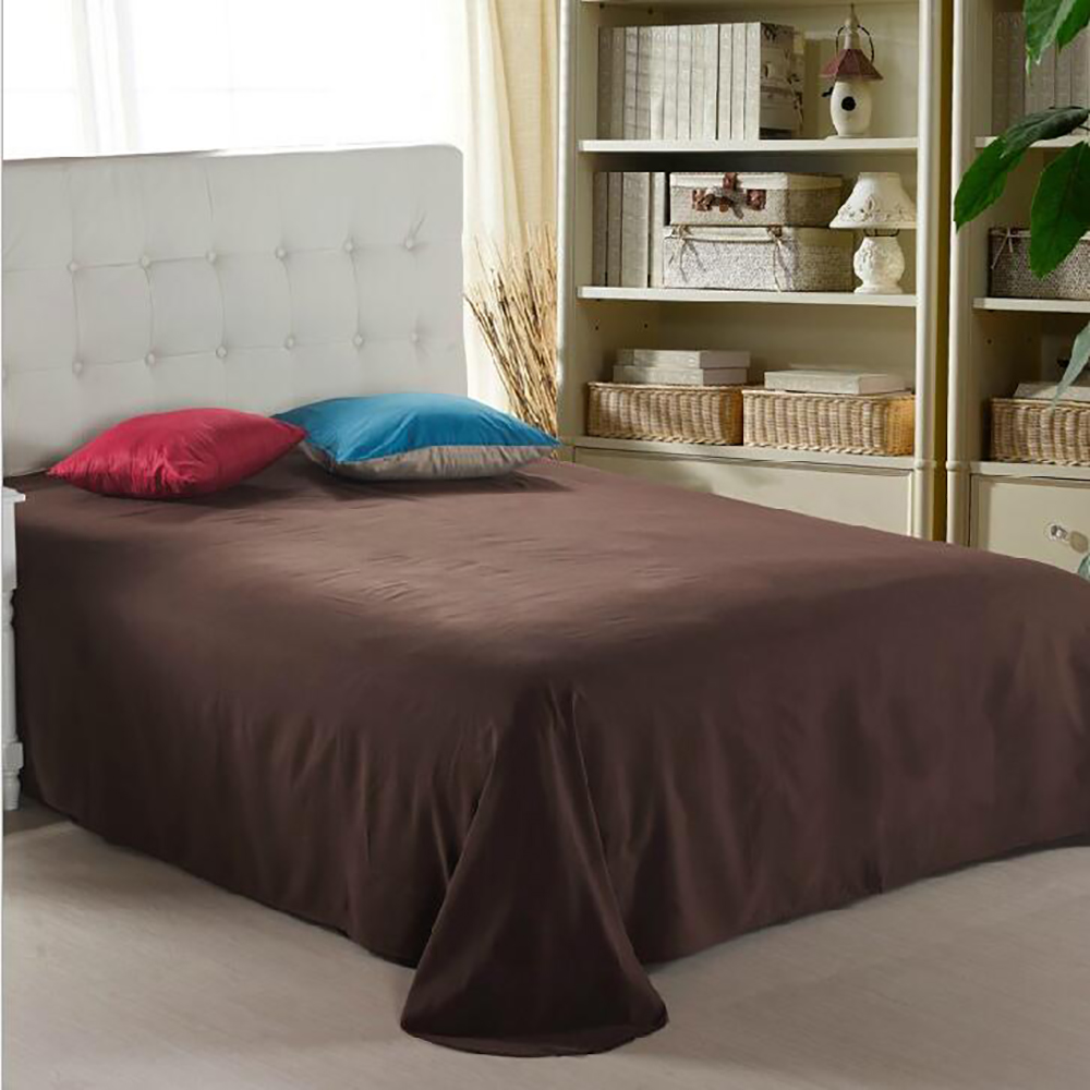 4 piece bed sheet set solid bedding set include flat sheet How to put a fitted sheet on a bed