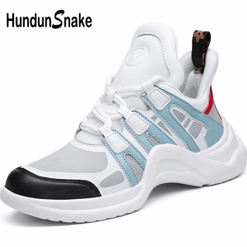 Hundunsnake Breathable Women's Running Shoes 2019 Womens Tennis Shoes Sneakers Lady Sports Shoe Sport High Top Train White B-065