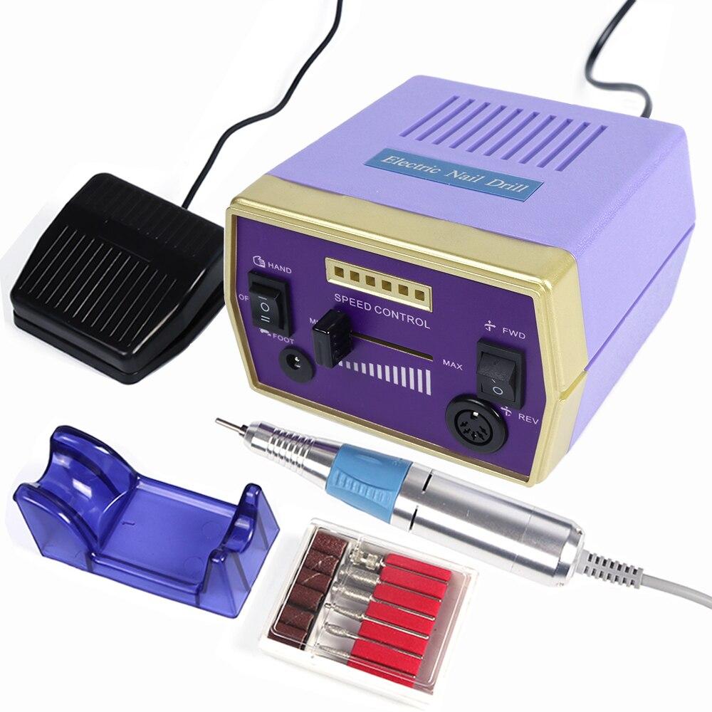 30000 tr/min électrique Nail Art perceuse Machine ensemble professionnel appareil de fraisage pour manucure accessoire pédicure ongles outils TRHBS-288