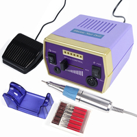 30000rpm Electric Nail Art Drill Machine Set Professional Milling Apparatus For Manicure Accessory Pedicure Nail Tools TRHBS 288