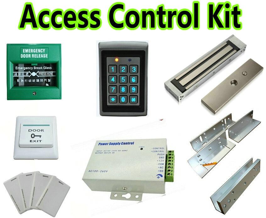 Door Access Control System Wiring Diagram 2002 Gmc Savana Radio Metal Reader Kit+break Glass+z&l Bracket+u Bracket+magnetic Lock Kit ...