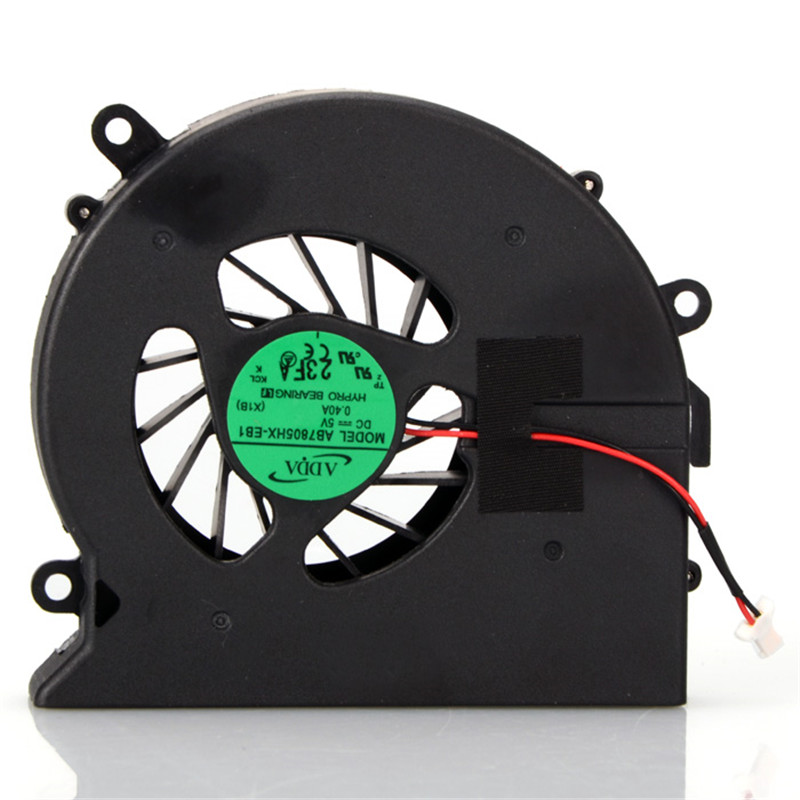 CPU Cooling Fan Notebook Computer Replacements Cooler Fan For HP Pavilion DV7 DV7-1000 DV7-2000 Sps-480481-001 F0116 gzeele new laptop cpu cooling fan fit for lenovo g400s g405s g500s z501 z505 cpu fan notebook cooler 4 pins laptops replacements