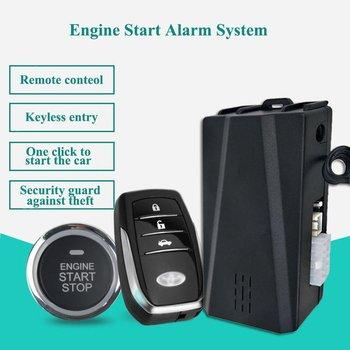 PKE Car Alarm System with Push-to-Start & Keyless Entry System