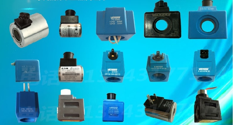 Hydraulic pneumatic solenoid coil for VICKERS 02-101725 solenoid 02 332169 for hydraulic solenoid directional valve 12v