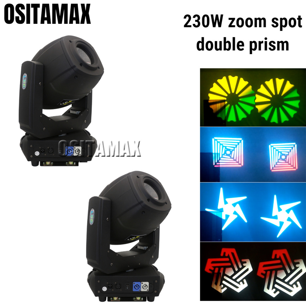 2pcs/lot LED Zoom Wash Beam Moving Head Light 230w Spot Gobo Light Clay Paky DJ Projector Stage Light DMX Disco Moving Heads2pcs/lot LED Zoom Wash Beam Moving Head Light 230w Spot Gobo Light Clay Paky DJ Projector Stage Light DMX Disco Moving Heads