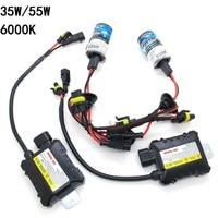 Slim Ballast Kit HID Xenon Bulb 12V 35W 55W H1 H3 H4 3 H7 H11 9005