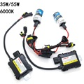 Slim Ballast Kit HID Xenon Bulb 12V 35W 55W H1 H3 H4-3 H7 H11 9005 HB3 9006 HB4 880 881 Auto Car Light Source Xenon Headlight