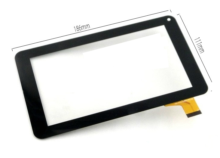 New 7 Inch Digitizer Touch Screen Front Glass Panel For JU-Z7Z118 Tablet