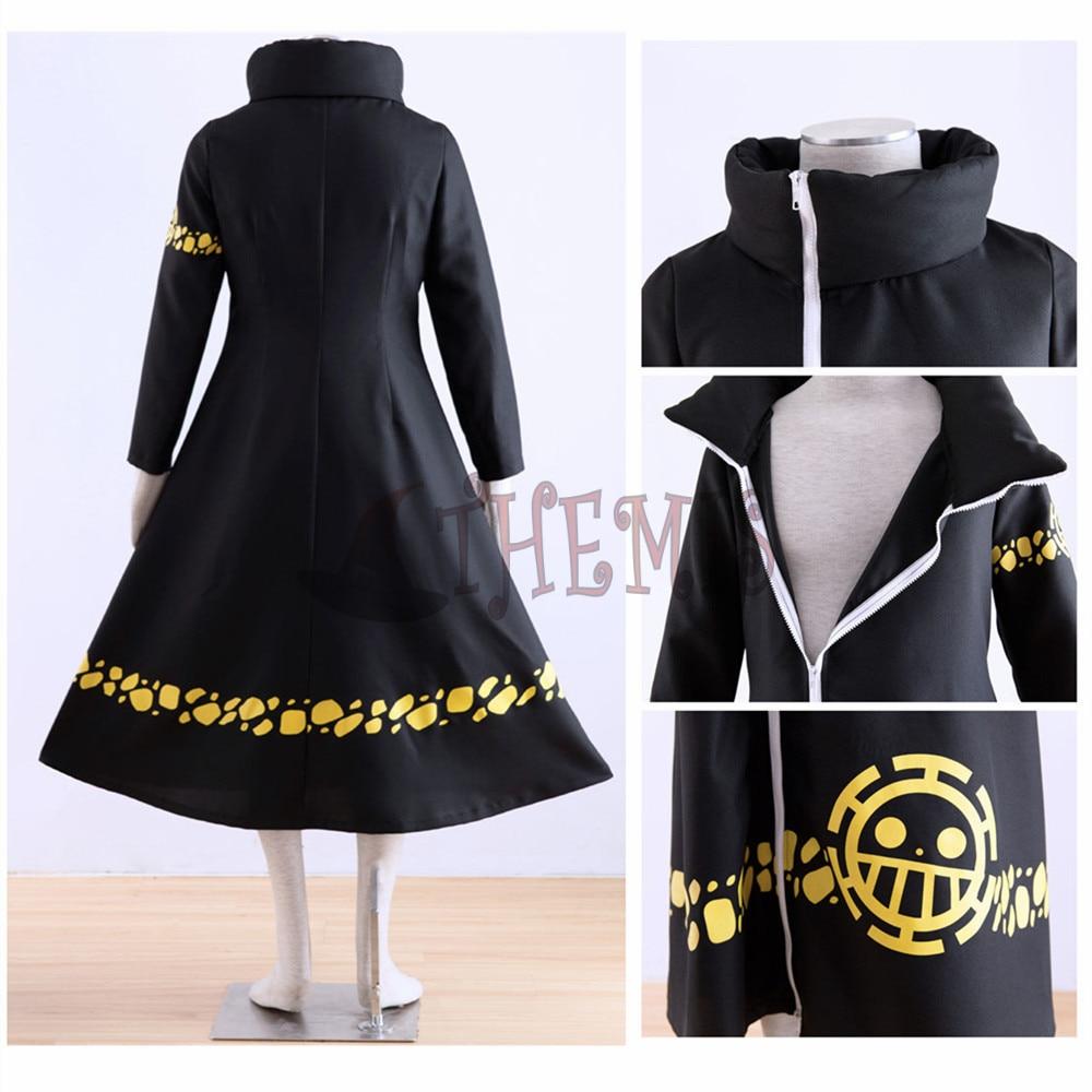 Athemis ONE PIECE Trafalgar Law (Trafalgar D Law Water) jaket panjang - Kostum karnival - Foto 3