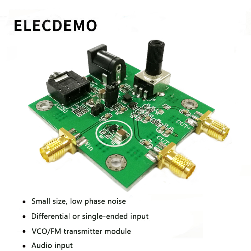 MAX2606 Module VCO RF Transmitter Module MAX2606 Chip FM Transmit Low Phase Noise Single or Differential Input-in Demo Board Accessories from Computer & Office