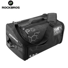 ROCKBROS Gym Bag Training Bags Waterproof Fitness Outdoor Sport Bag High Capacity Triathlon Bags Backpack With Rain Cover deirdre pitney triathlon training for dummies