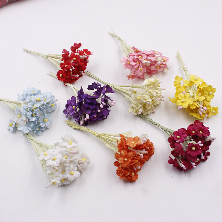 how to make mini dried flowers