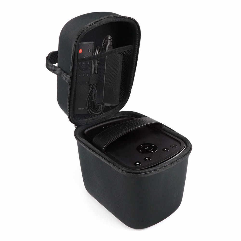 Новейший EVA жесткий футляр для Anker Туманность Mars II 300 ANSI люмен мини-проектор, Anker и езды на автомобиле аксессуары сумка для переноски