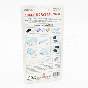 Image 3 - Hard Crystal Case Clear Cover Shell for Nintendo DS Lite Console
