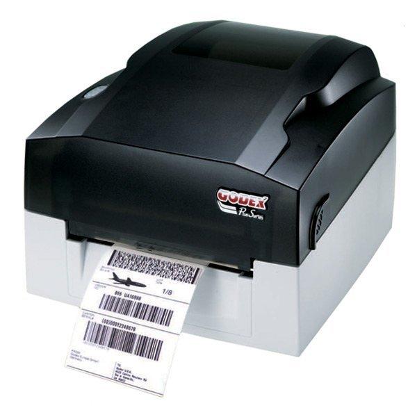 Godex EZ-1105 сразу тепловой штрих-принтера этикеток с 4.25 дюйм(ов) ширина печать и 68 дюйм(ов) 68-дюймовый печать длина