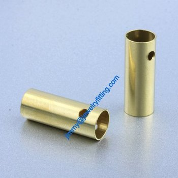 Copper Tube Conntctors Tubes jewelry findings 9*24mm ship free 1000pcs copper tube Spacer beads