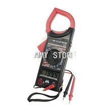 AC750V DC1000V 3 1/2 цифр ЖК-дисплей AC DC мультиметр Электронный тестер цифровой клещи красный черный DT-266