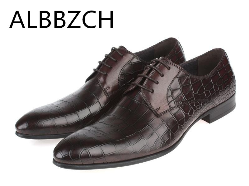 New mens wedding shoes men fashion embossed cow leather dress shoes European style business leisure work derby shoes size 38-44New mens wedding shoes men fashion embossed cow leather dress shoes European style business leisure work derby shoes size 38-44