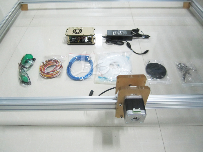 Russia no tax 2500MW Desktop DIY Violet LY M1 Laser Engraving Machine - 5