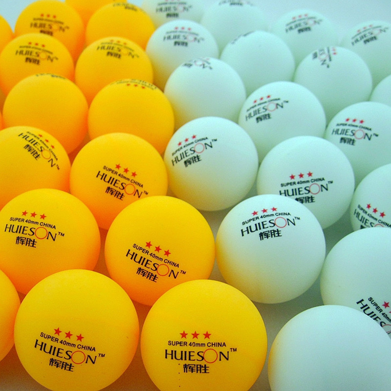 20 50 100 Pcs 3 Star 40mm 2 8g Table Tennis Balls Ping pong Ball White