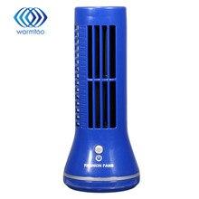 Мини Портативный Вентилятор No Leaf Usb-вентилятор Bladeless Холодильное Рабочего Кондиционер Мини размер для легкой носит