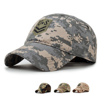 U.S Camo Tactical Baseball Cap Men Casual Camouflage Army SWAT Tactical Hat Outdoor Camping Hunting Camo Casual Snapback Hat