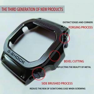 Image 3 - Uhr Band Lünette Strap DW5600 GWM5610 Metall Edelstahl Armband Fall Rahmen Armband Zubehör Reparatur Werkzeug