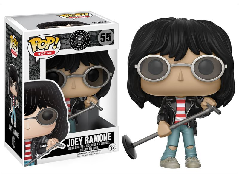 Funko pop Official Rocks: Music - Joey Ramone Vinyl Action Figure Collectible Model Toy with Original Box  funko pop official spider man homecoming spiderman new suit vinyl action figure collectible model toy with original box