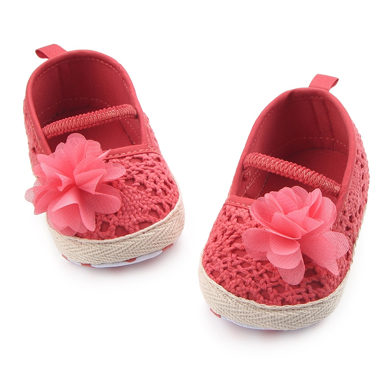 Spring Summer Baby Girl The First Walker Anti-slip Sneakers Soft Sole Girl Shoes Children Shoes