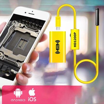 Hd 2 миллионов android iphone wifi эндоскоп Авто ремонтная труба разблокирована микро камера водонепроницаемый