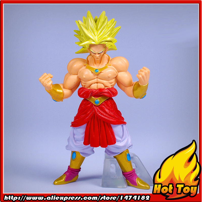 100% Original BANDAI Gashapon PVC Toy Figure HG Part 7 - Broly Super Saiyan from Japan Anime Dragon Ball Z earphones in ear music hifi earphone deep bass earbuds with none microphone for mobile phone computer mp3 sport running