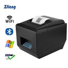 цена High quality 80mm thermal receipt bill printers Kitchen Restaurant POS printer With automatic cutter function Stylish appearance онлайн в 2017 году