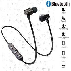 Магнитные беспроводные Bluetooth наушники стерео спортивные водонепроницаемые наушники беспроводные наушники-вкладыши с микрофоном для IPhone 7