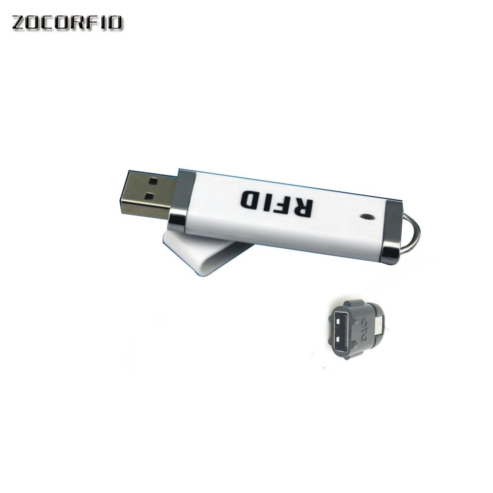 Новейший мини USB RFID ID Бесконтактный бесконтактный считыватель смарт-карт 125 кГц EM4001 Поддержка Windows/android/I-paid + 1 карт