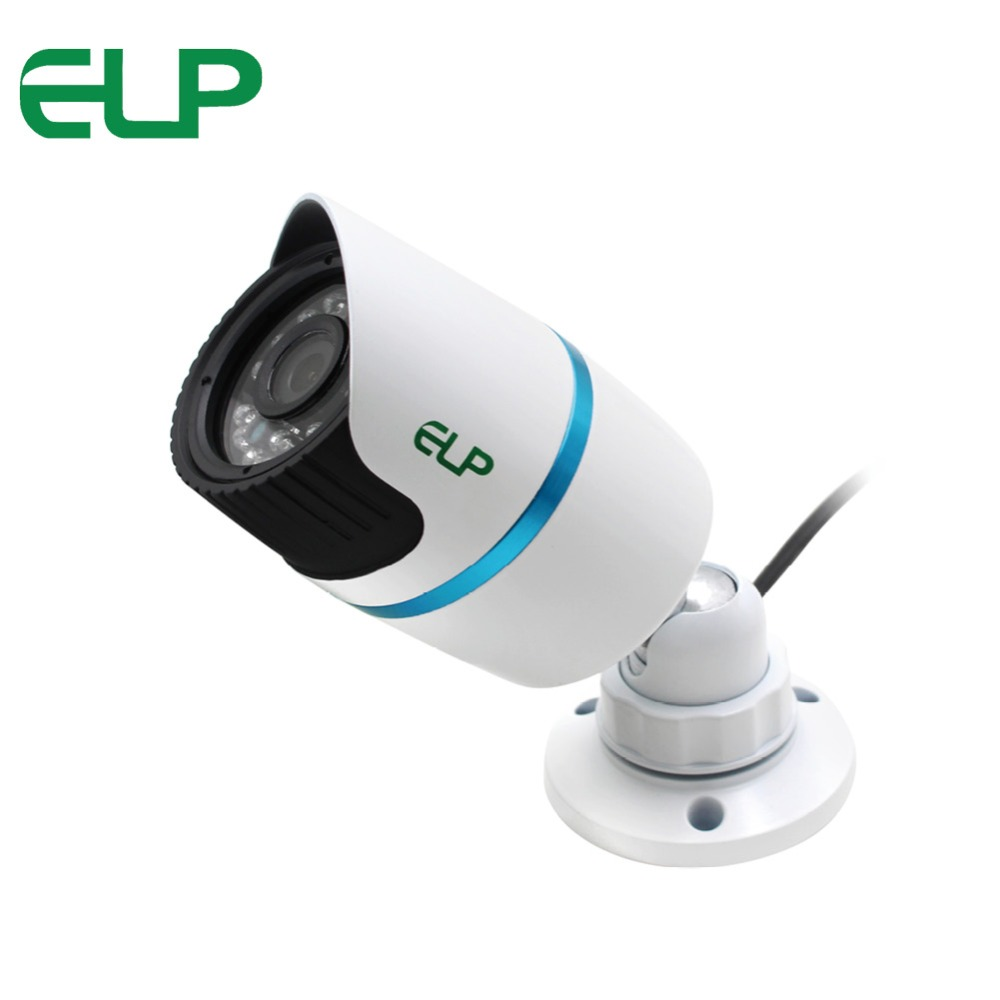 ELP CCTV Security CMOS 700TVL Outdoor Waterproof IR bullet analog Camera for Day Night home video surveillance ah4rp 130 direct factory cmos cctv camera outdoor mini video surveillance analog infrared ir night vision waterproof bullet se