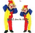 Мультфильм одежда выполнение клоун костюм детская одежда косплей детский сад Хэллоуин костюмы костюм