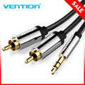 Vention RCA Cable 3.5mm to 2RCA Audio Cable 3.5mm Jack Plug Male to Male RCA Cable for Amplifier Subwoofer Home Theater DVD VCD
