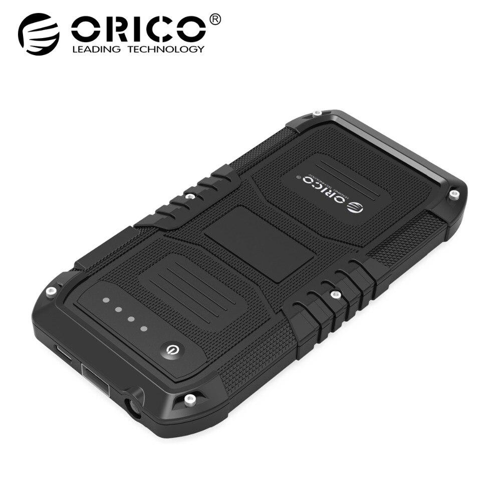 ORICO Multi-Fonction De Voiture D'urgence Externe Batterie Chargeur Mini Portable Mobile Power Bank 4000 mah Booster de Départ Powerbank