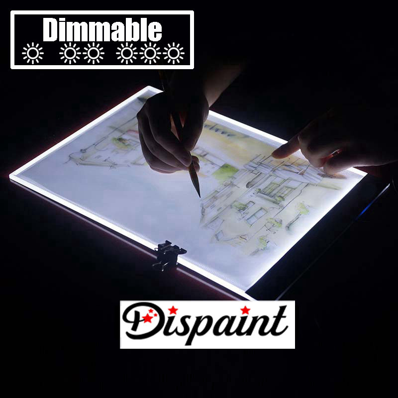 Dimmerabile-Ultrasottile-A4-HA-CONDOTTO-LA-Luce-Tablet-Pad-Applicare-per-EU-UK-AU-US-Spina (6)