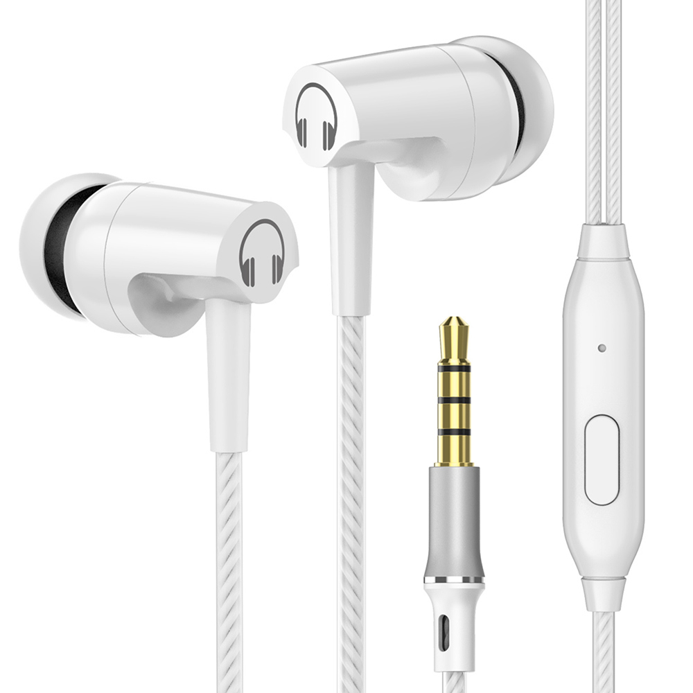 SIMVICT Stereo Earphone Headphones With Microphone Volume Control Earbuds Bass Headset for Phones Iphone Xiaomi Ear phone