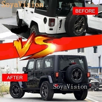 Tail Lights For Jeep Wrangler LED Tail Lamp Replacement Tail Lights Brake Reverse Lamps For 2007