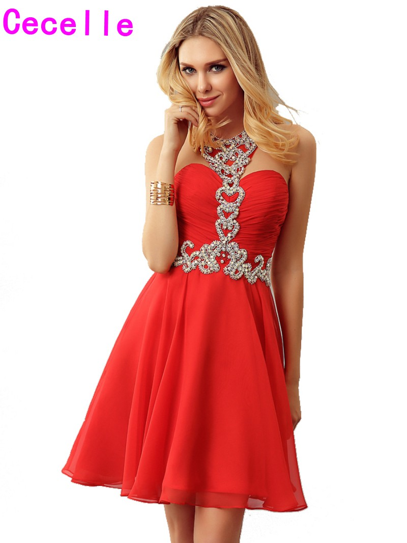 Popular Teen Red Dresses-Buy Cheap Teen Red Dresses lots from ...